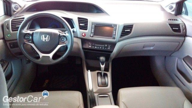 Honda New Civic EXS 1.8 16V i-VTEC (aut) (flex) - Foto #5
