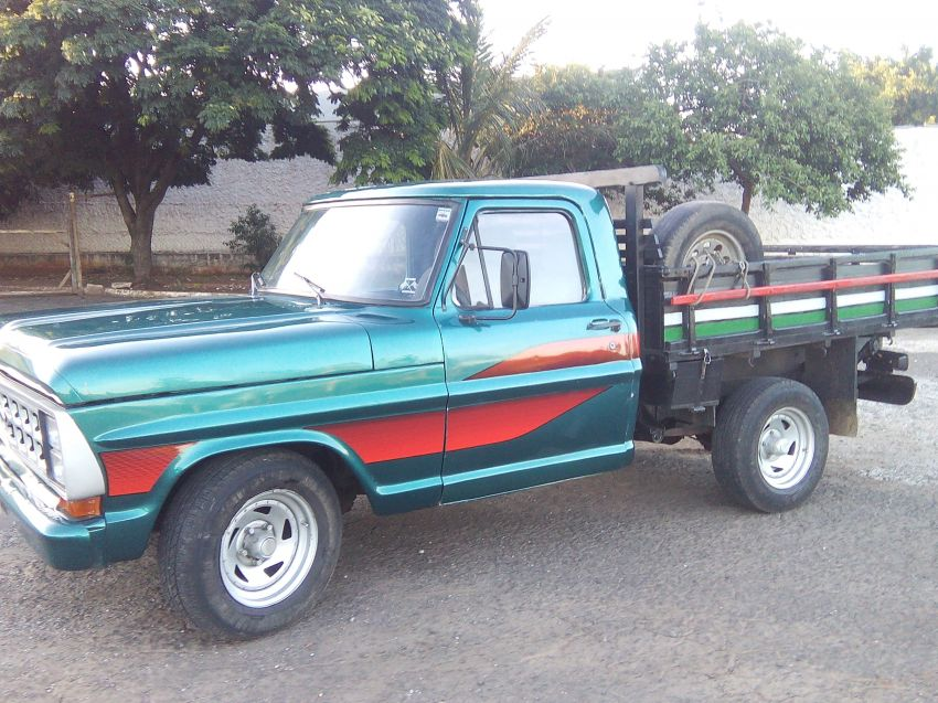 Ford F1000 Super Serie 3.9 (Cab Simples) - Foto #4