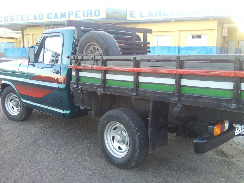 Ford F1000 Super Serie 3.9 (Cab Simples) - Foto #8