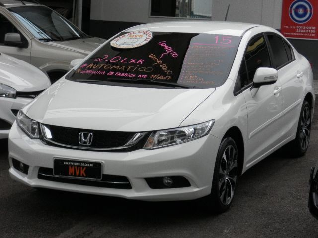 Honda Civic LXR 2.0 16V Flex - Foto #1