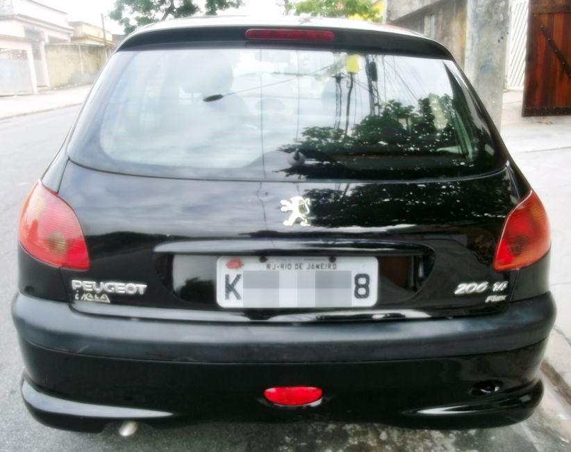 Peugeot 206 Hatch. Presence 1.4 8V (flex) 2p - Foto #8