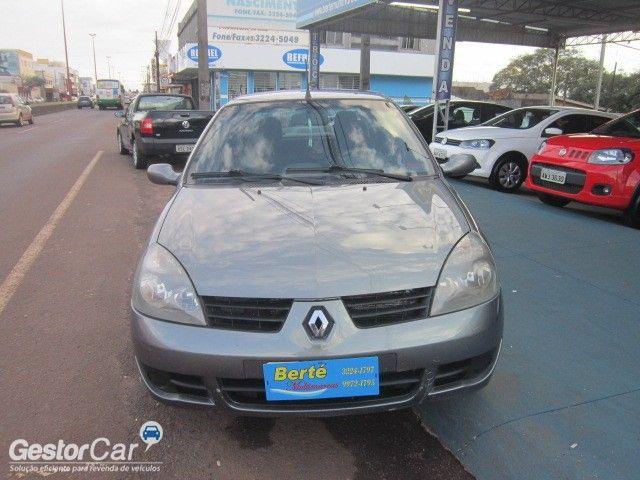 Renault Clio Sedan Authentique 1.0 16V (flex) - Foto #2