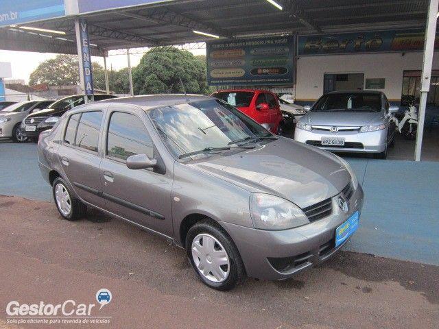 Renault Clio Sedan Authentique 1.0 16V (flex) - Foto #3