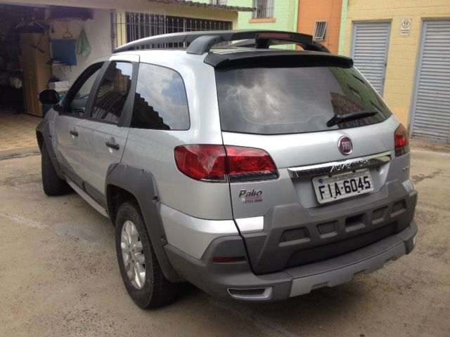 Fiat Palio Weekend Adventure Locker Dualogic 1.8 8V (Flex) - Foto #6