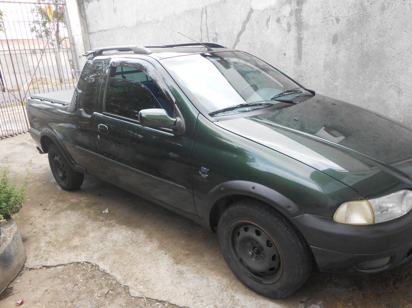 Fiat Strada LX 1.6 MPi 16V (Cab Estendida) - Foto #2