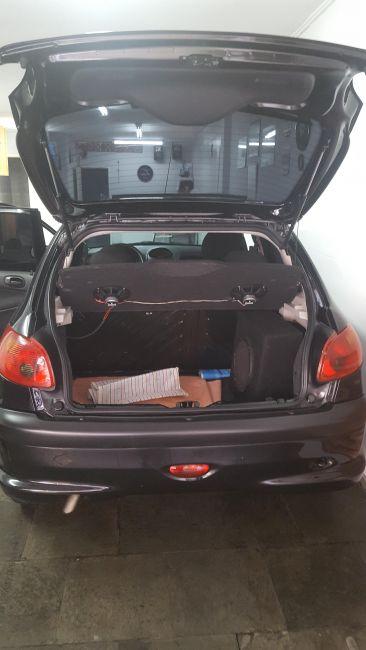 Peugeot 206 Hatch. Presence 1.6 16V (flex) - Foto #4
