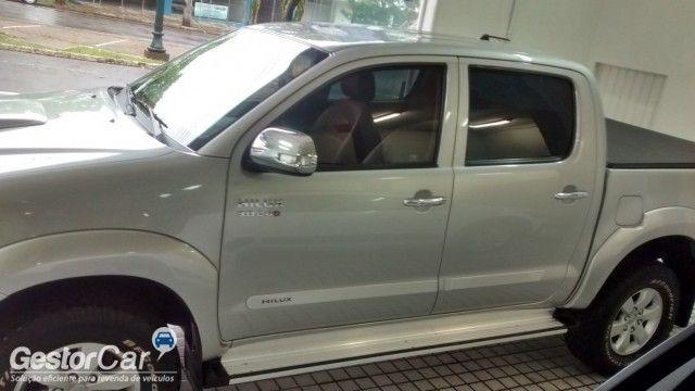 Toyota Hilux 3.0 TDI 4x4 CD SRV Auto - Foto #10