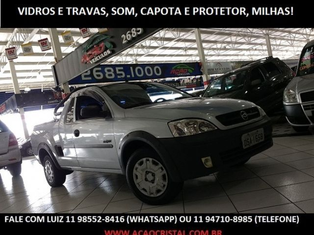 Chevrolet Montana Conquest 1.8 mpfi 8V Flexpower - Foto #1