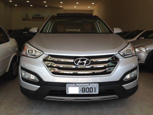 Hyundai Santa Fe GLS 3.3L V6 4x4 (Aut) 7L - Foto #1