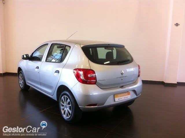 Renault Sandero Authentique Plus 1.0 16V (Flex) - Foto #3