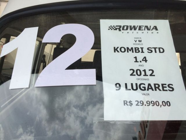 Volkswagen Kombi Standard 1.4 Mi 8V Total Flex - Foto #8