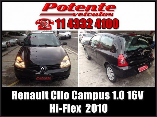 Renault Clio Campus 1.0 16V Hi-Flex - Foto #1