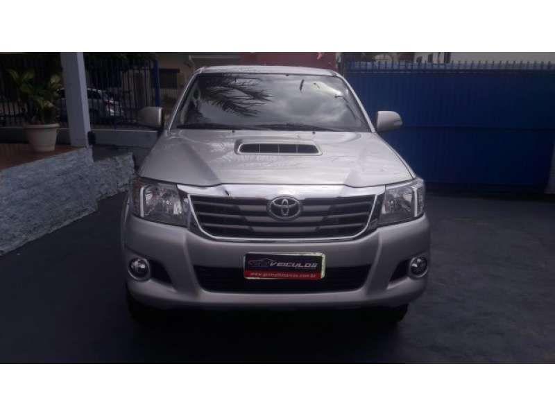 Toyota Hilux 3.0 TDI 4x4 CD SRV Auto - Foto #1