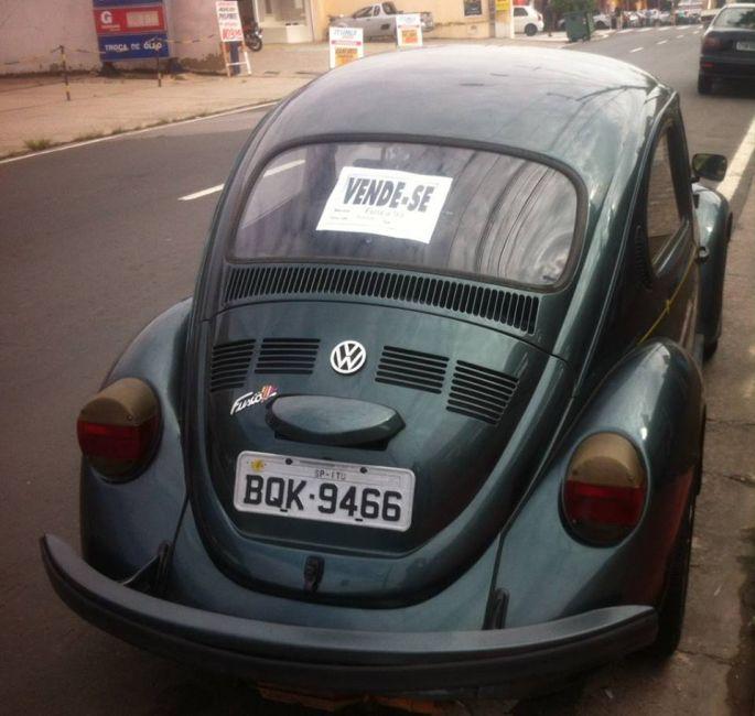 Volkswagen Fusca 1600 - Foto #1