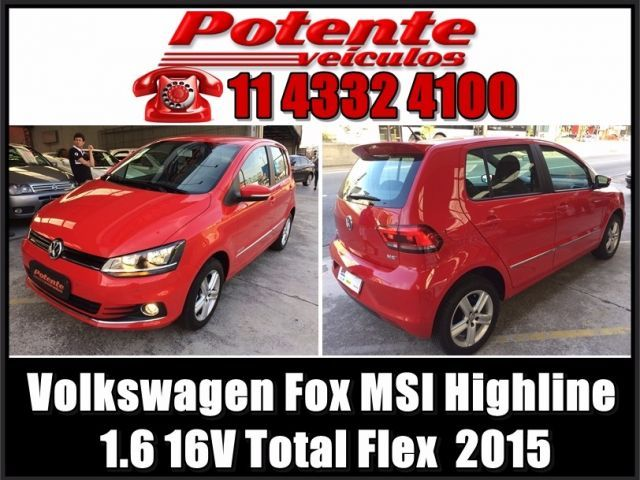 Volkswagen Fox MSI Highline 1.6 16V Total Flex - Foto #1