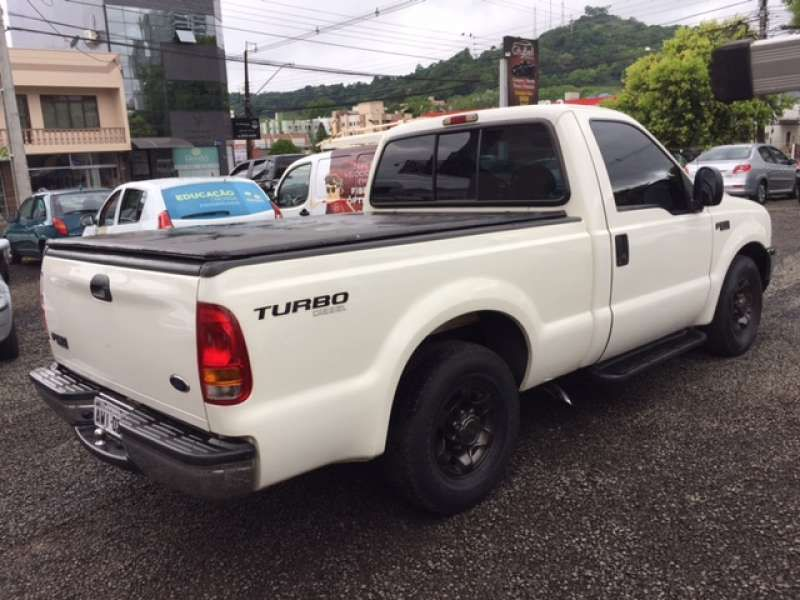 Ford F250 XLT 4.2 Turbo (Cab Simples) - Foto #3