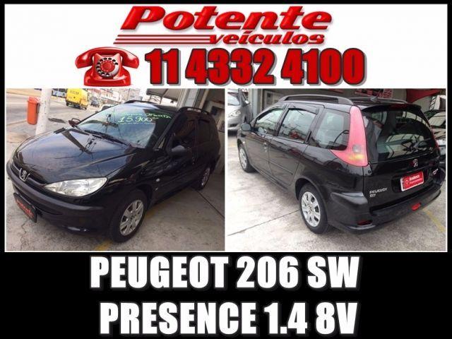 Peugeot 206 SW Presence 1.4 8V - Foto #1