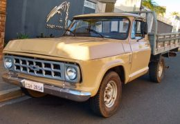 Chevrolet D10 Pick Up Custom Luxe 4.0 (Cab Simples)