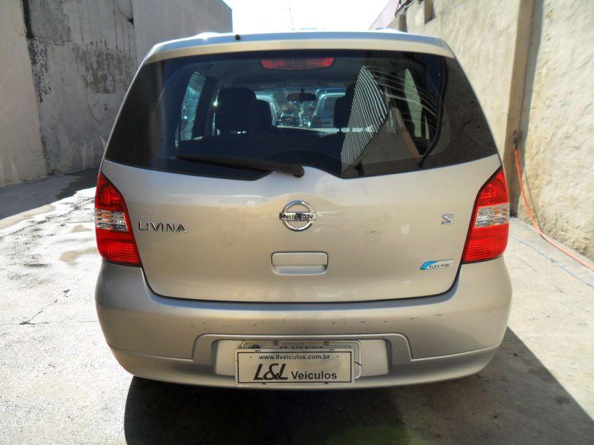 Nissan Livina S 1.6 16V (flex) - Foto #6