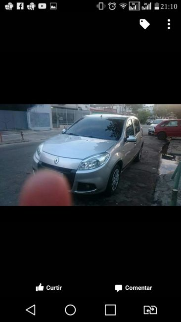 Renault Sandero 1.6 8V Expression Easy-r (Aut) - Foto #1