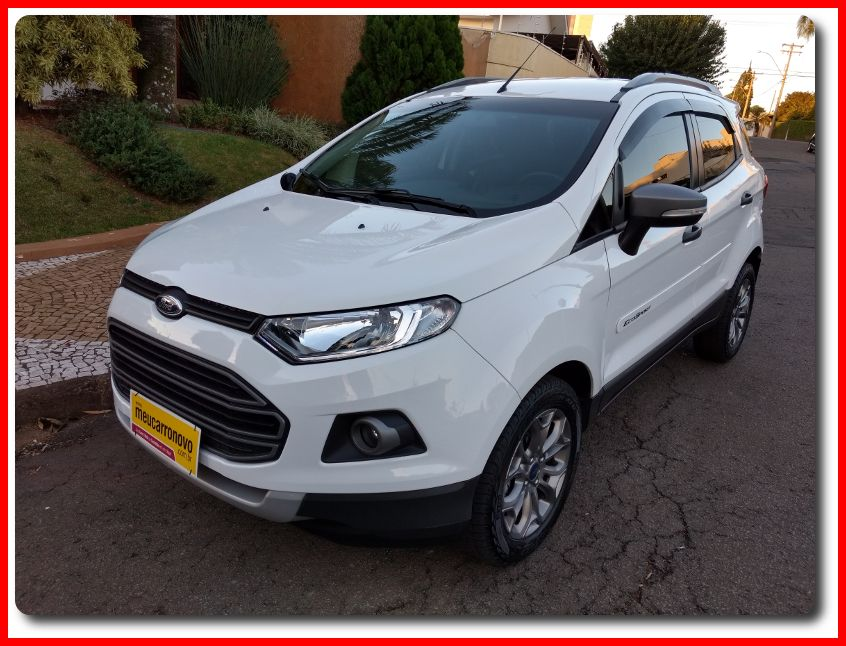 Ford Ecosport Freestyle Plus 1.6 16V (Flex) - Foto #10