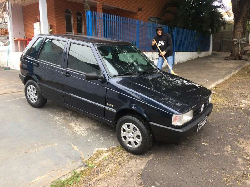 Fiat Uno Mille 1.0 - Foto #2