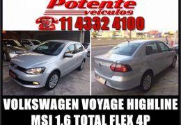 Volkswagen Voyage Highline 1.6 Total Flex