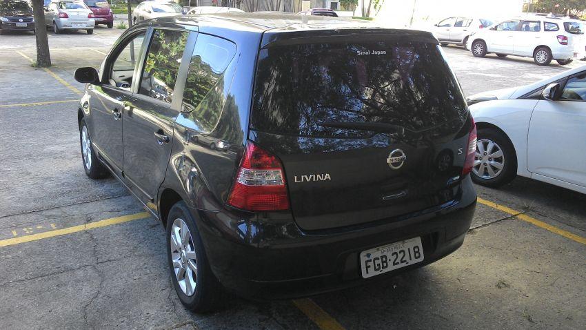 Nissan Livina S 1.8 16V (flex) (aut) - Foto #9