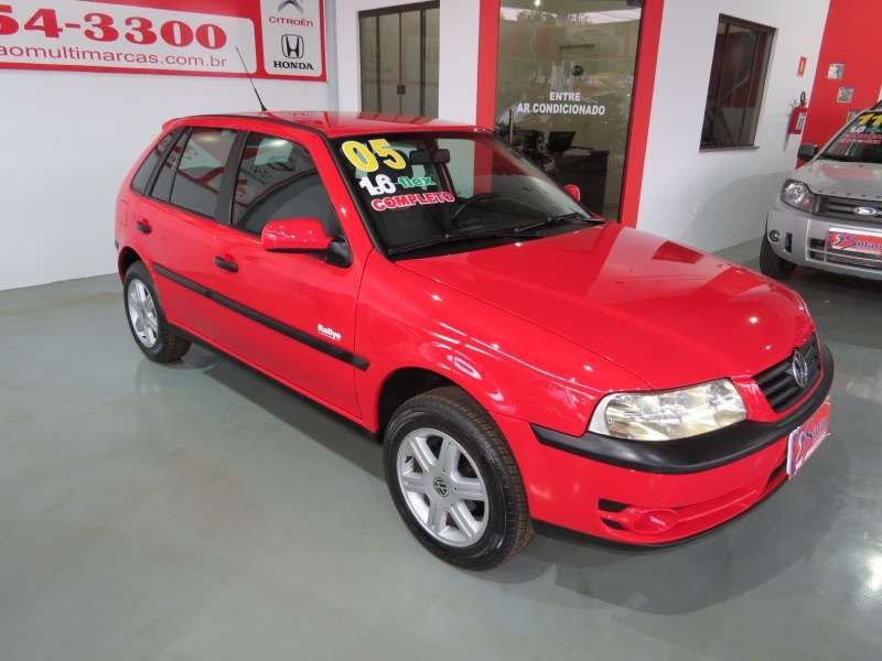 Volkswagen Gol Rallye 1.6 VHT (Flex) - Foto #3