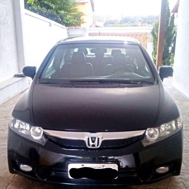 Honda New Civic LXS 1.8 (aut) (flex) - Foto #6