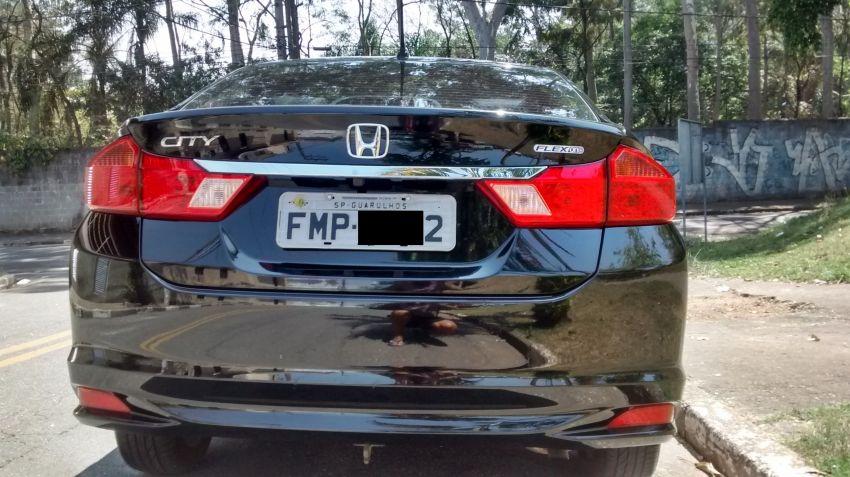 Honda City EXL 1.5 16V (flex) (aut.) - Foto #9