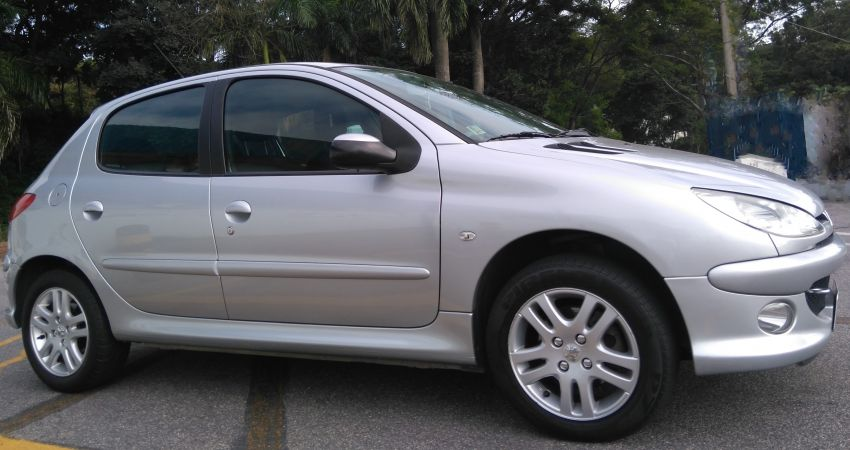 Peugeot 206 Hatch. Allure 1.6 16V (flex) - Foto #6