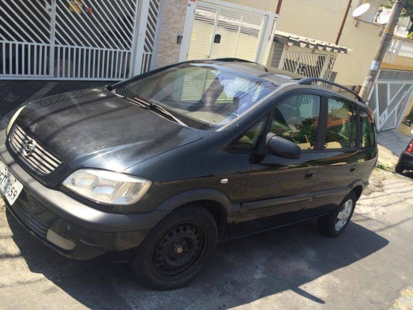 Chevrolet Zafira Cd 2 0 16v 2002  2002