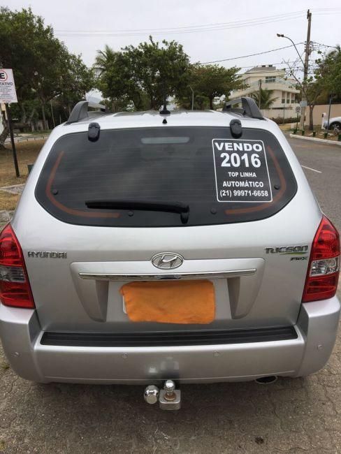 Hyundai Tucson 2.0L 16v GLS (Flex) (Aut) - Foto #8