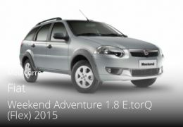Fiat Palio Weekend Adventure 1.8 16V E.TorQ Dualogic