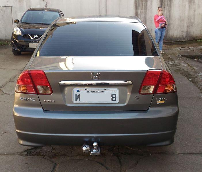 Honda Civic Sedan LXL 1.7 16V - Foto #6