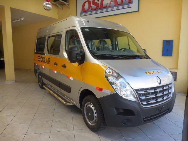 Renault Master Minibus Escolar L2H2 20 Lugares 2.3 dCi - Foto #4