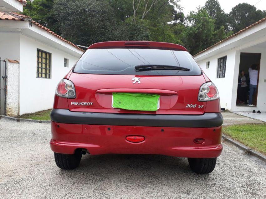 Peugeot 206 Hatch. Presence 1.4 8V (flex) 2p - Foto #2