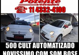 Fiat 500 Cult Dualogic 1.4 8V Flex