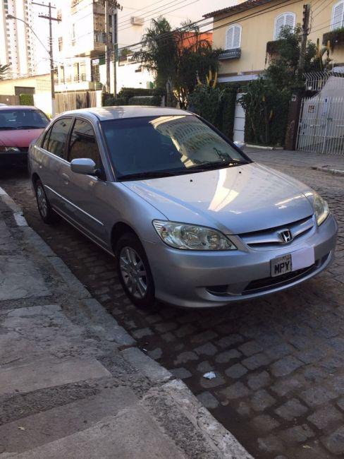Honda Civic Sedan EX 1.7 16V - Foto #2