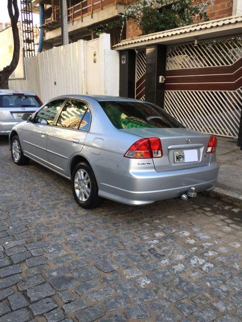 Honda Civic Sedan EX 1.7 16V - Foto #6