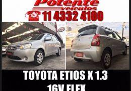 Toyota Etios X 1.3 16V Flex