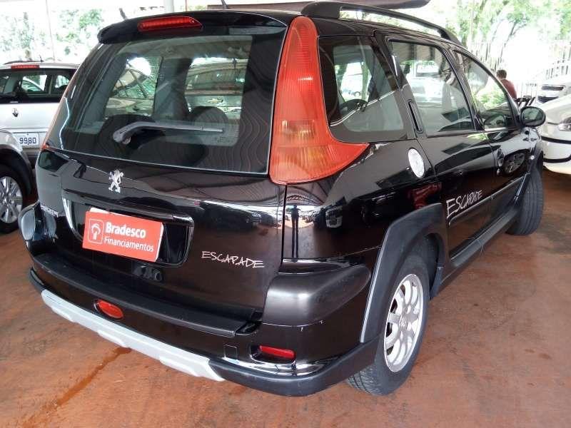 Peugeot 206 SW Escapade 1.6 (flex) - Foto #2