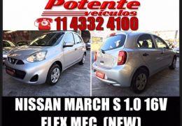 Nissan March S 1.0 16V Flex