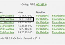 Fiat Palio Fire Economy 1.0 8V (Flex) 4p