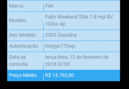 Fiat Palio Weekend Stile 1.8 8V