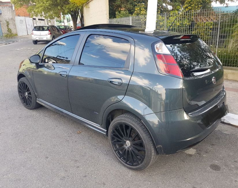 Fiat Punto Sporting 1.8 (Flex) - Foto #7
