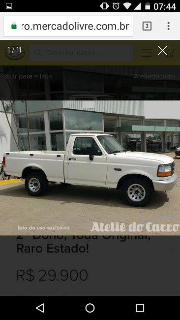 Ford F1000 4.9 i (Cab Simples) - Foto #4
