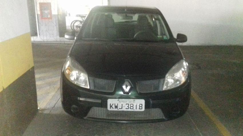 Renault Sandero Authentique 1.6 8V Hi-Torque (flex) - Foto #4