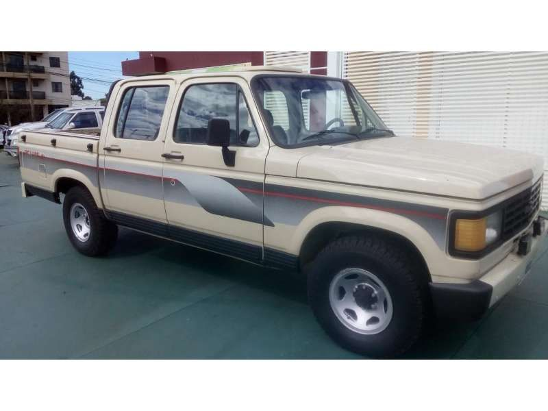 Chevrolet D20 Pick Up Custom S 4.0 (Cabine Dupla) - Foto #1